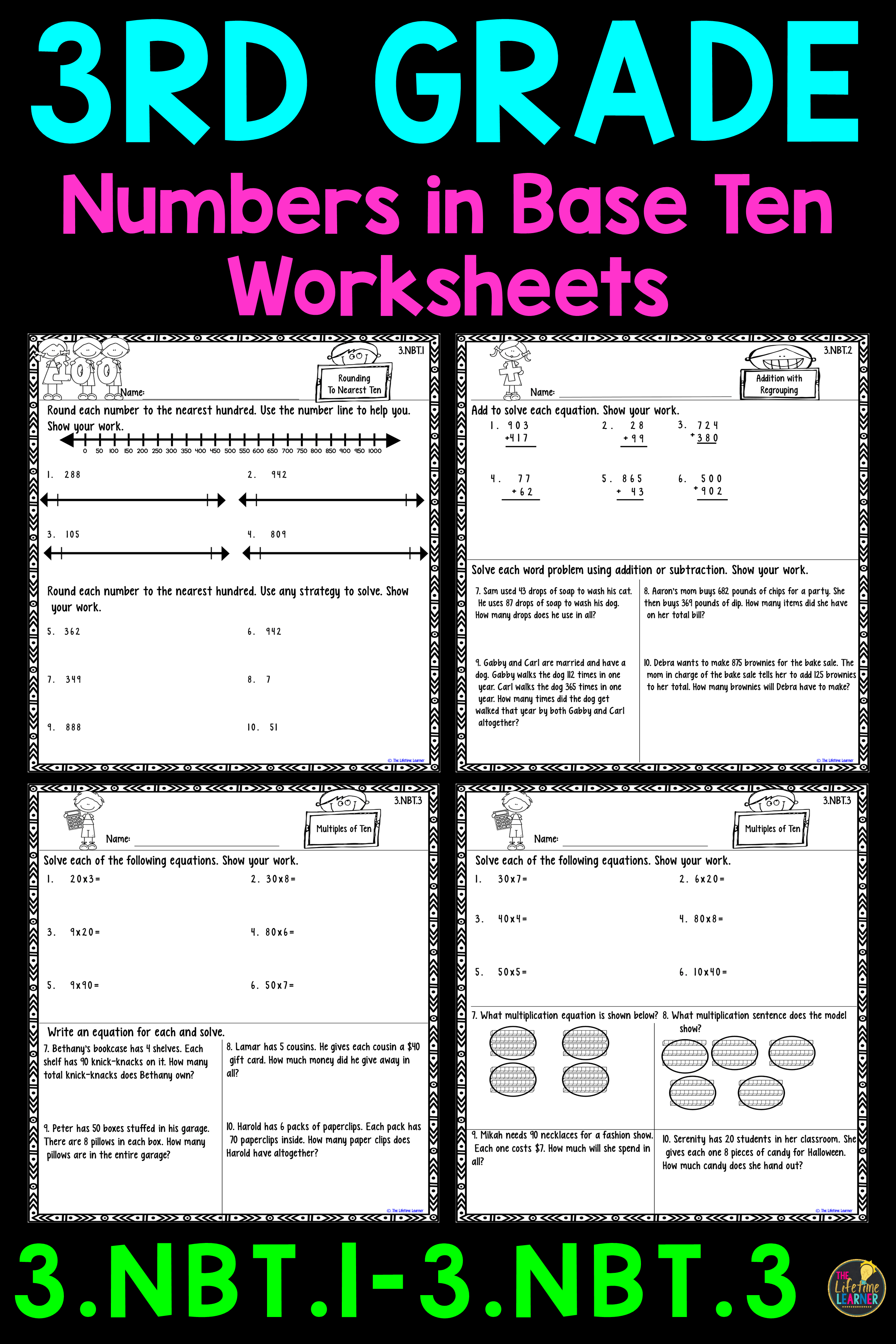 14 Best Rounding Numbers Worksheets Grade 3 Images On Best