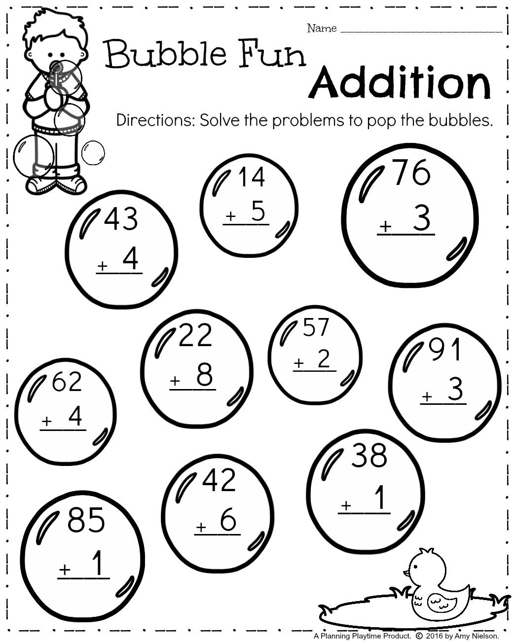 2 Digit Subtraction With Regrouping Worksheets With Math