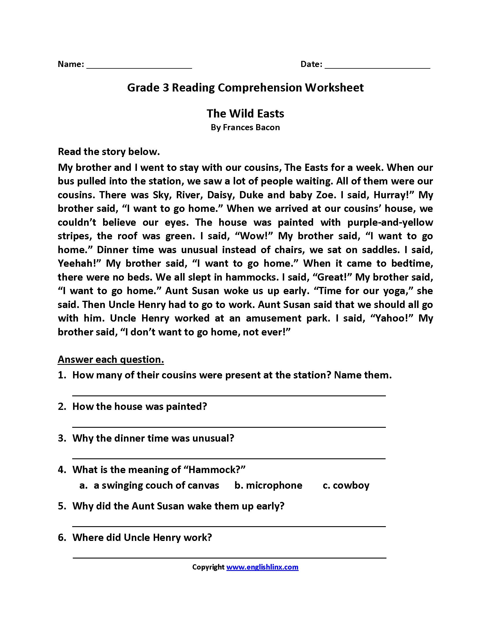 22 Best Third Grade Worksheets Images On Best Worksheets
