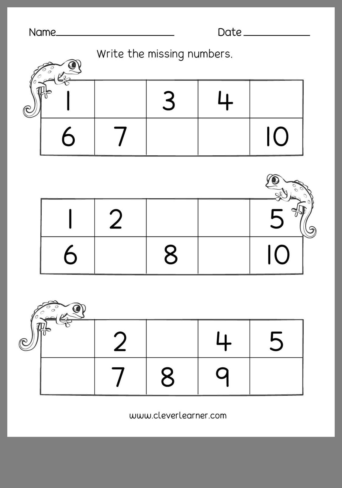 16 Best Number Writing Worksheets 4 Images On Best