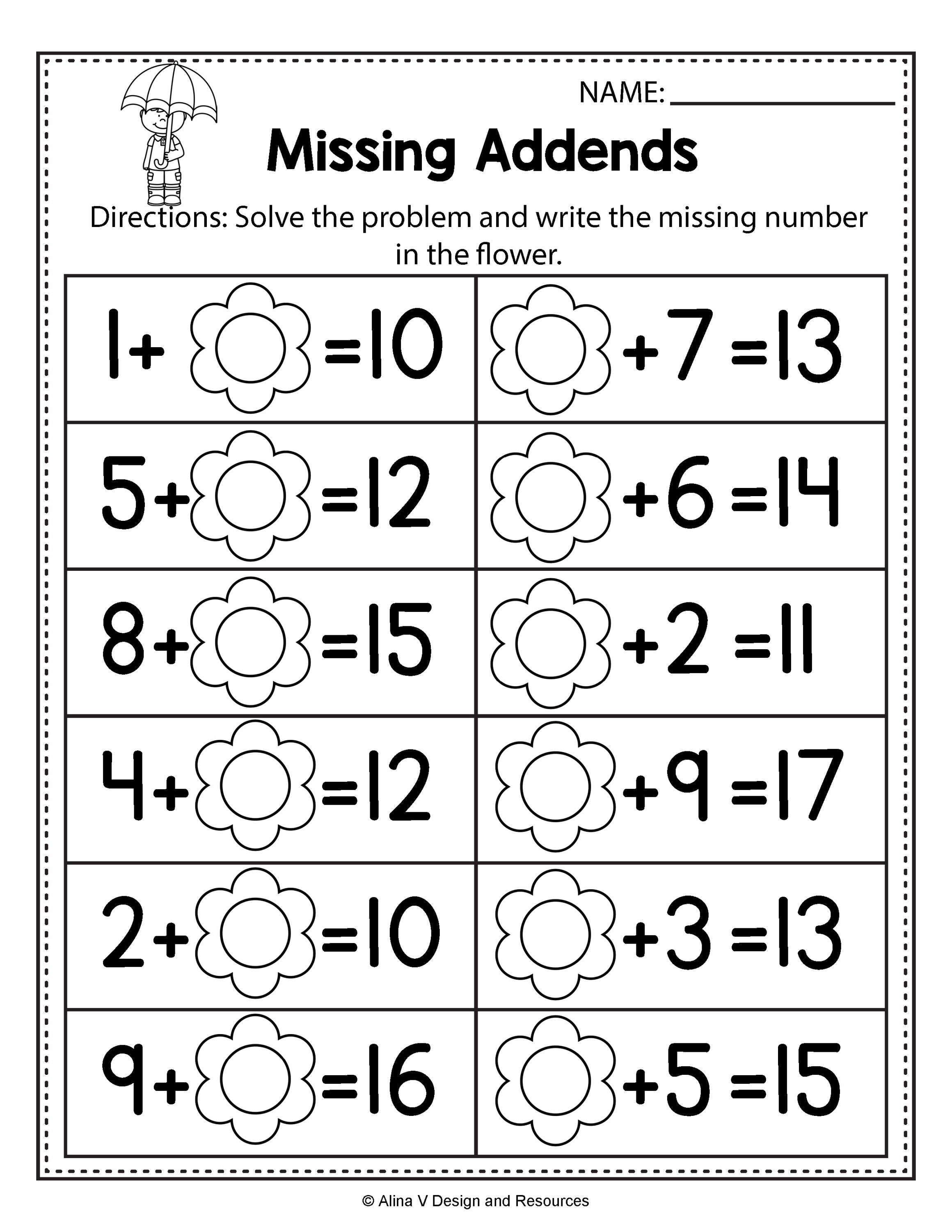 4 Year Old Worksheets