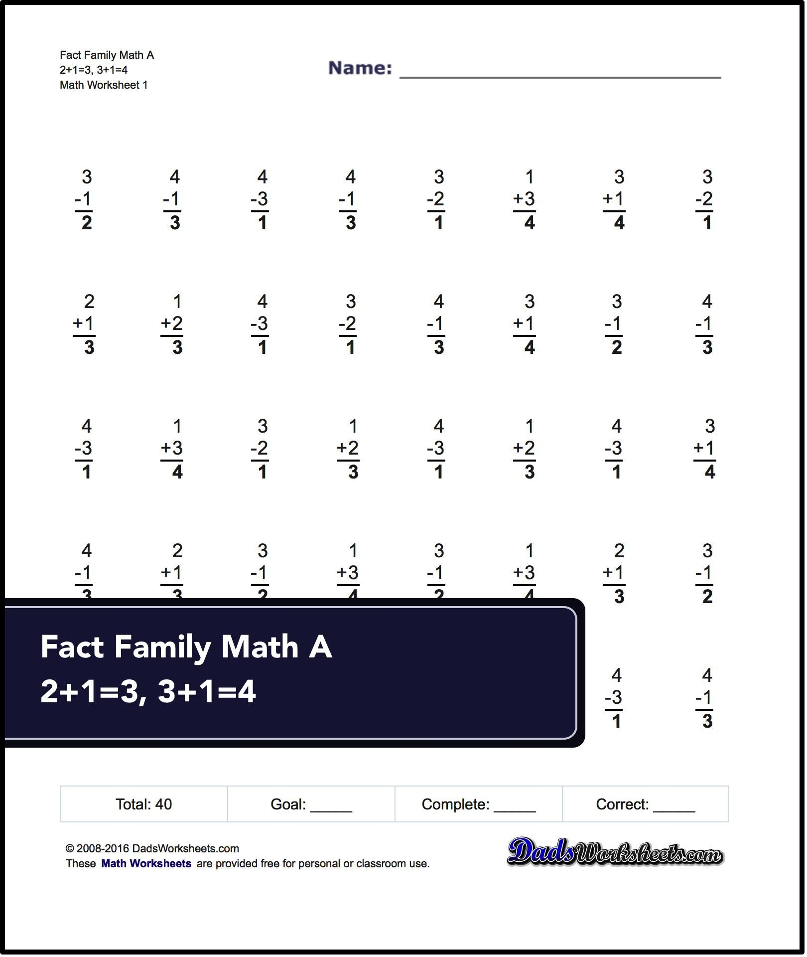 First Grade Math Worksheets Mental Subtraction To 12 1