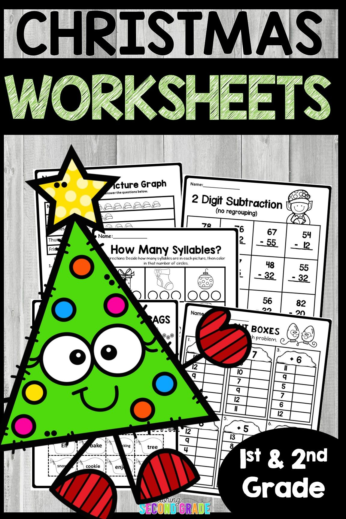 Math Worksheets For 2nd Graders