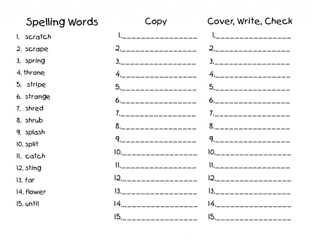 14 Best 2nd Grade Spelling Word Worksheets Images On Best