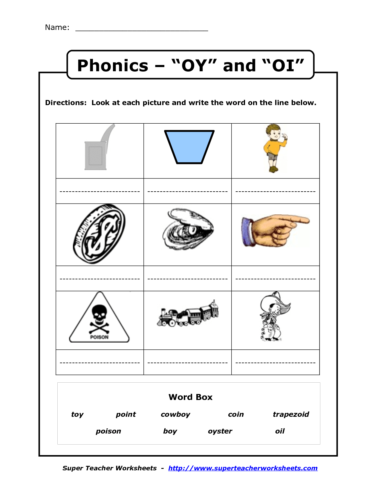 12 Best Second Grade Phonics Worksheets Images On Best