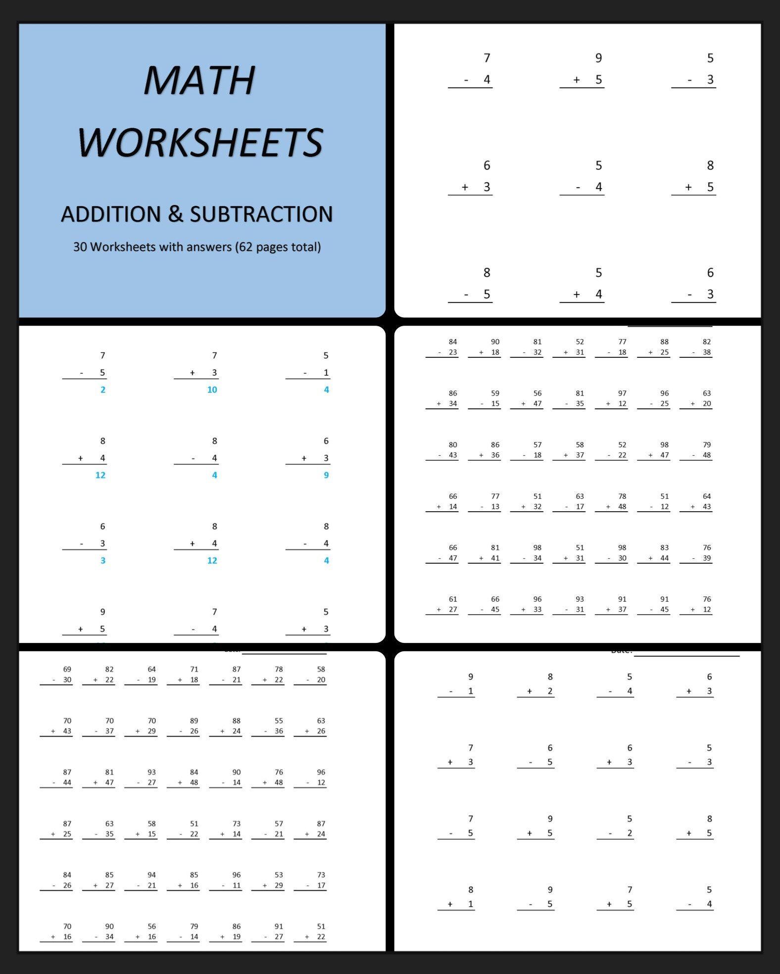 12 Best 4 Digit Subtraction Worksheets Images On Best