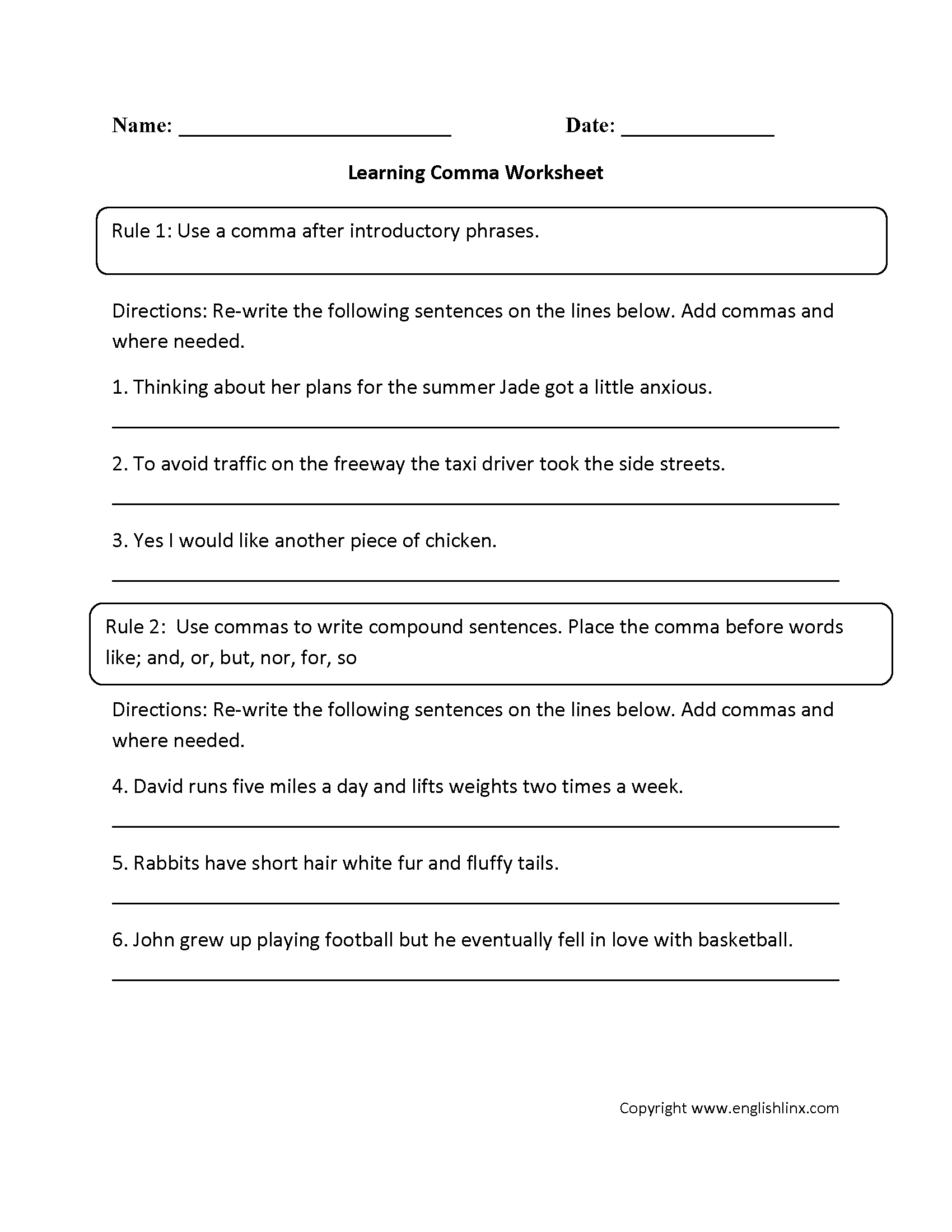 15 Best Punctuation Worksheets Grade 6 Images On Best