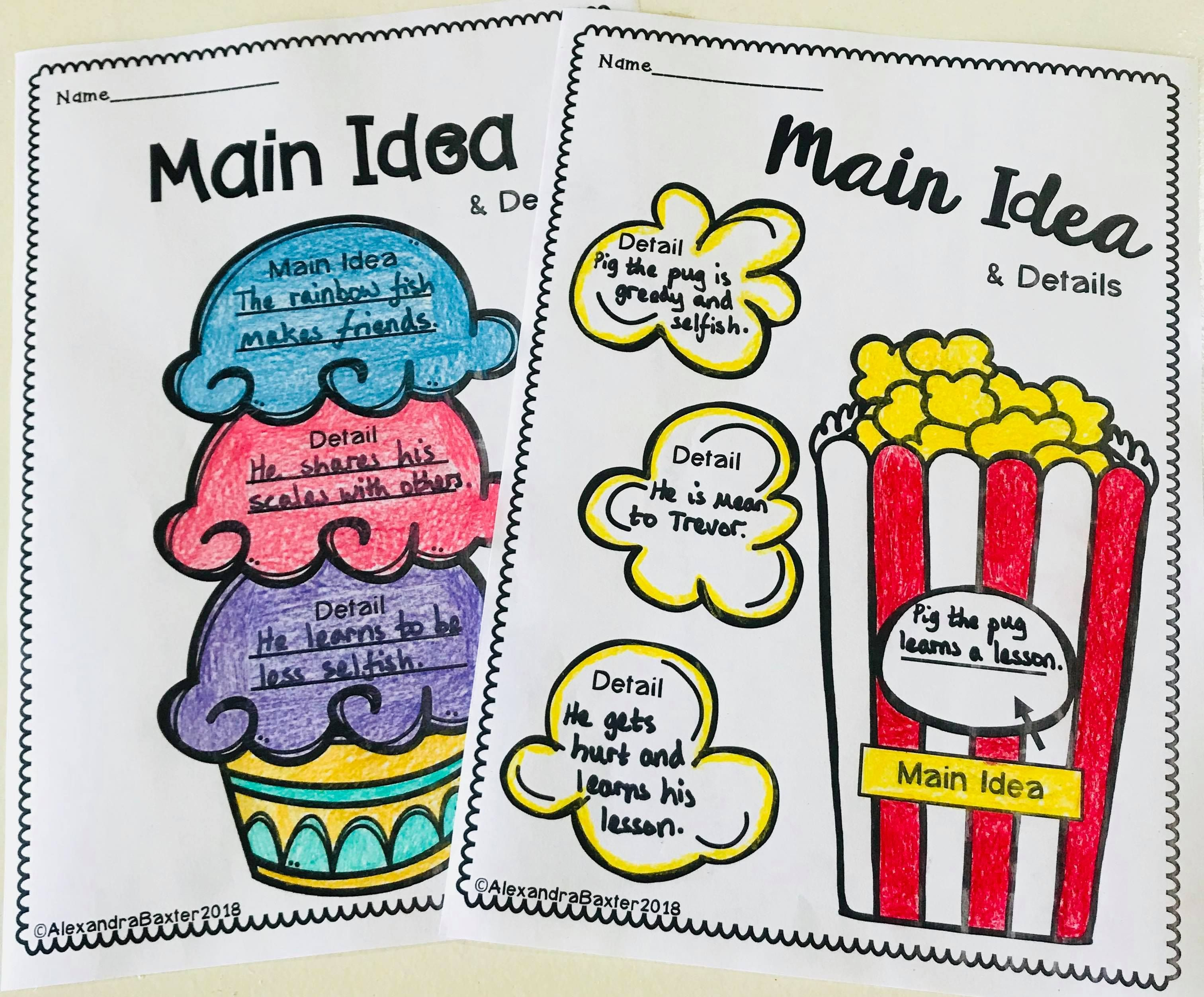 8 Best Second Grade Main Idea And Details Worksheets