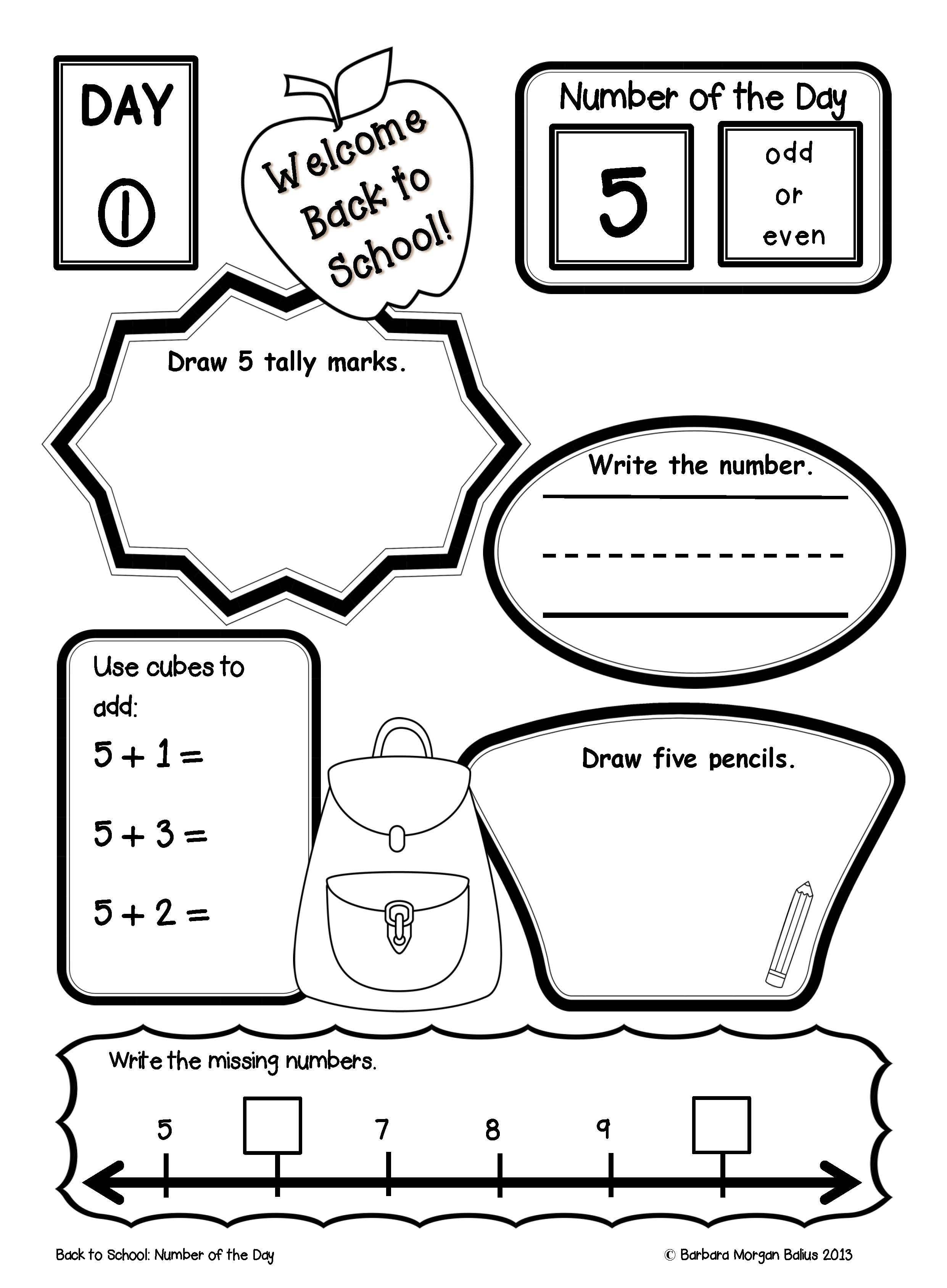 First Grade Math Place Value Worksheets