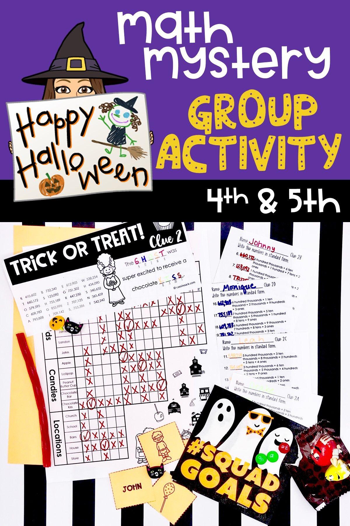 7 Best Halloween Worksheets For Fifth Grade Images On Best