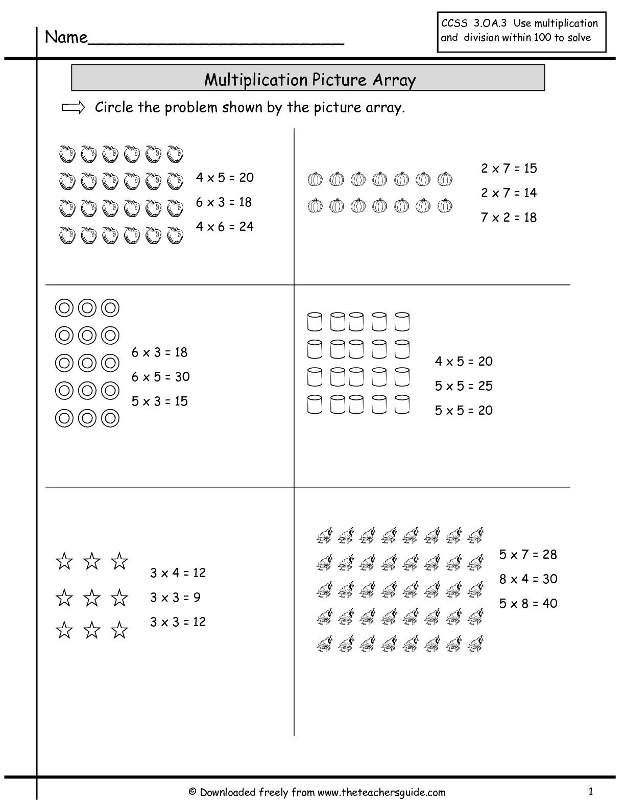 17 Best Multiplication Worksheets Grade 5 Math Images On