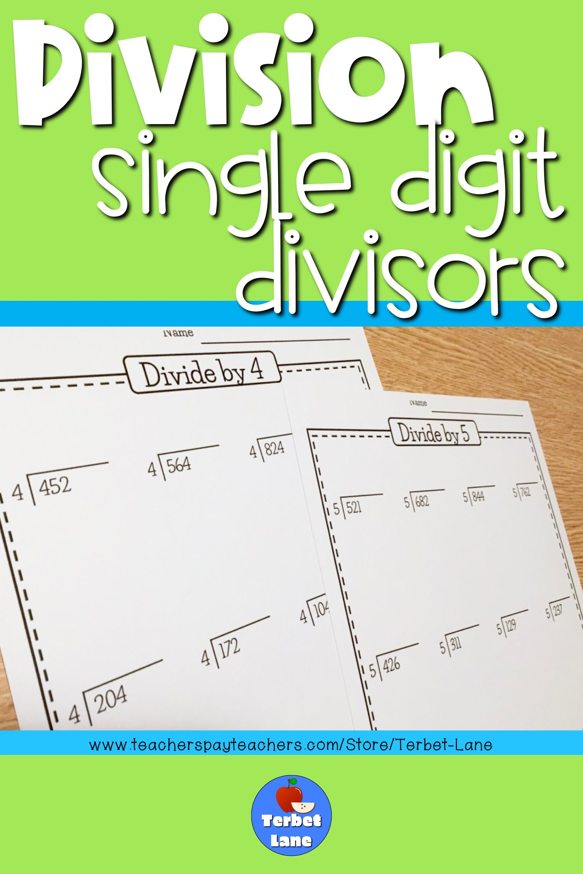 14 Best 5th Grade Division Worksheets 5 By 4 Images On