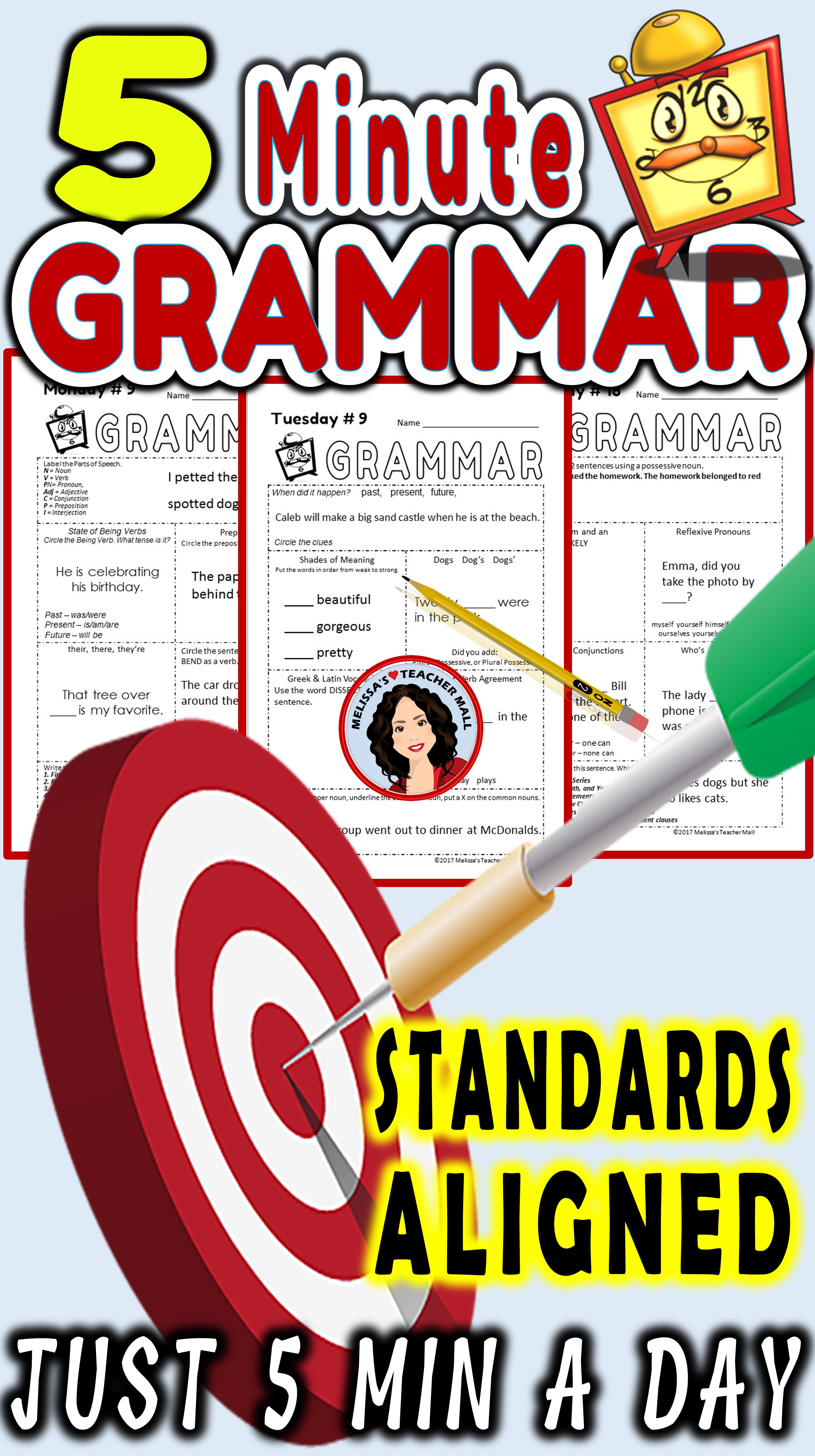 9 Best 7th Grade Grammar Worksheets With Answer Keys