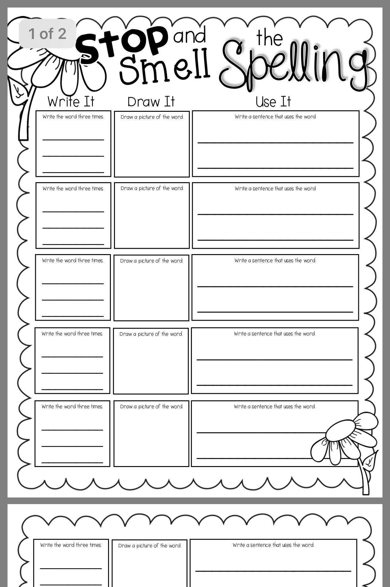Download The Free Final Y Spelling Pattern Worksheets At