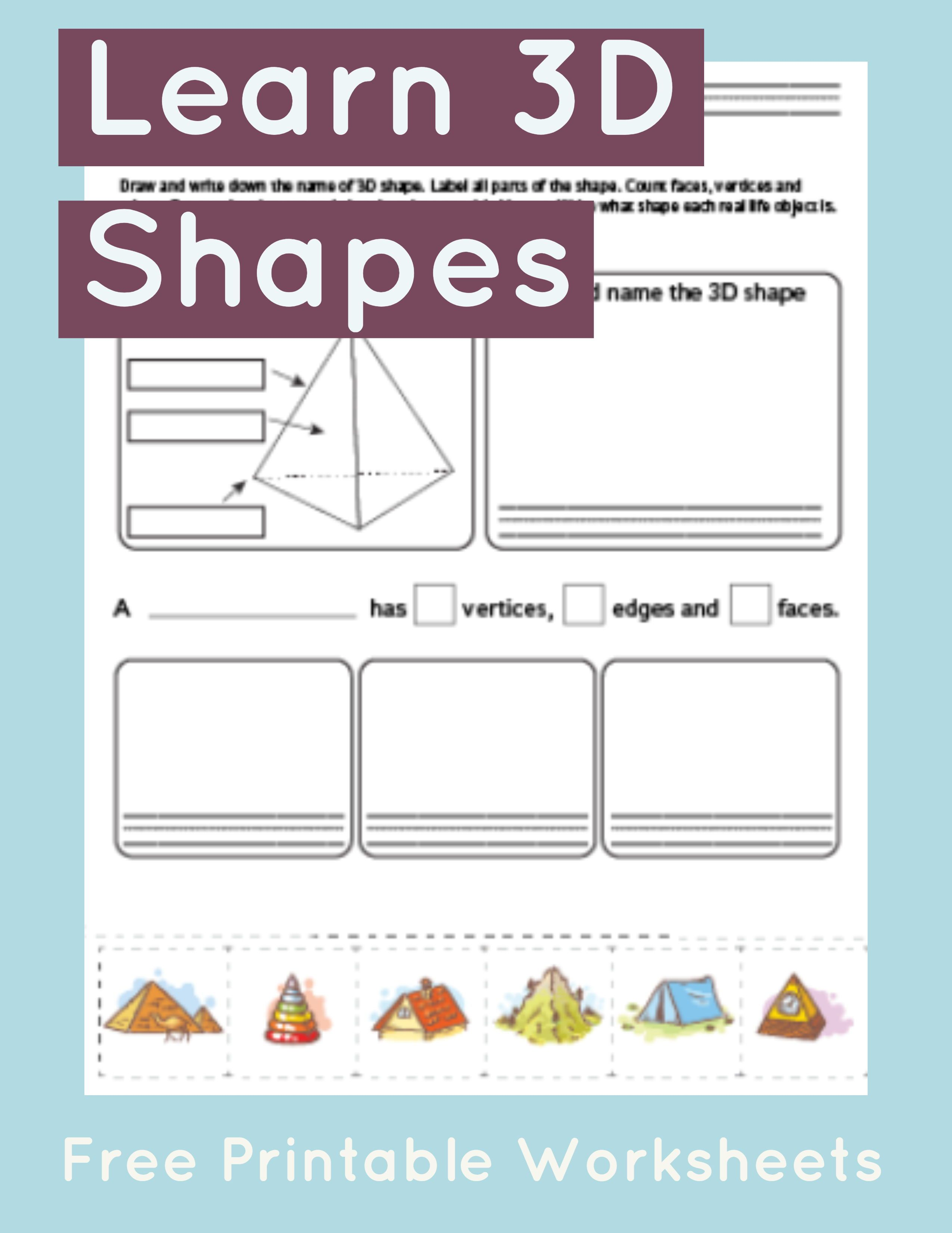 Worksheet On Shapes