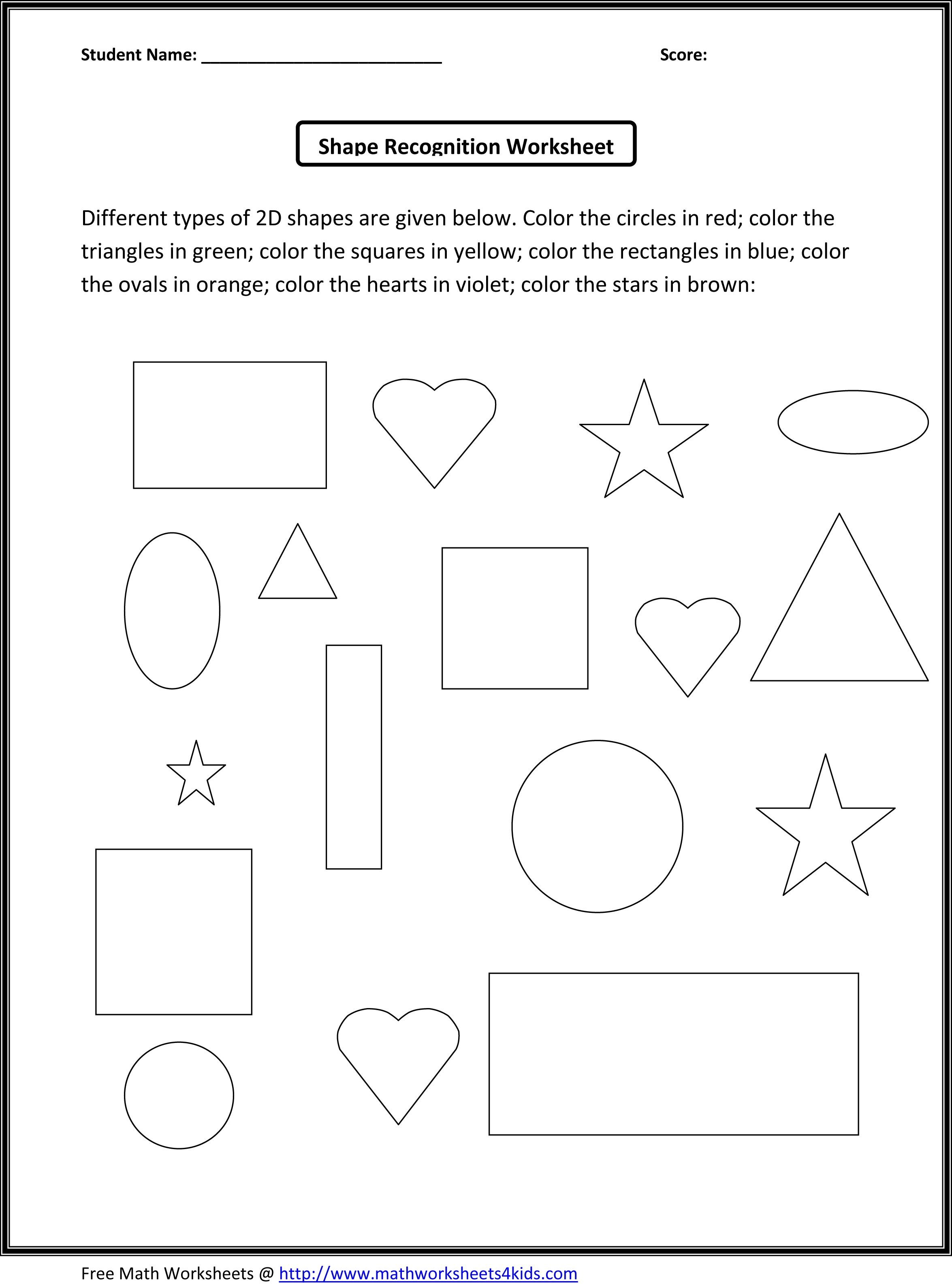 9 Best Shape Triangle Worksheets Preschool Images On Best