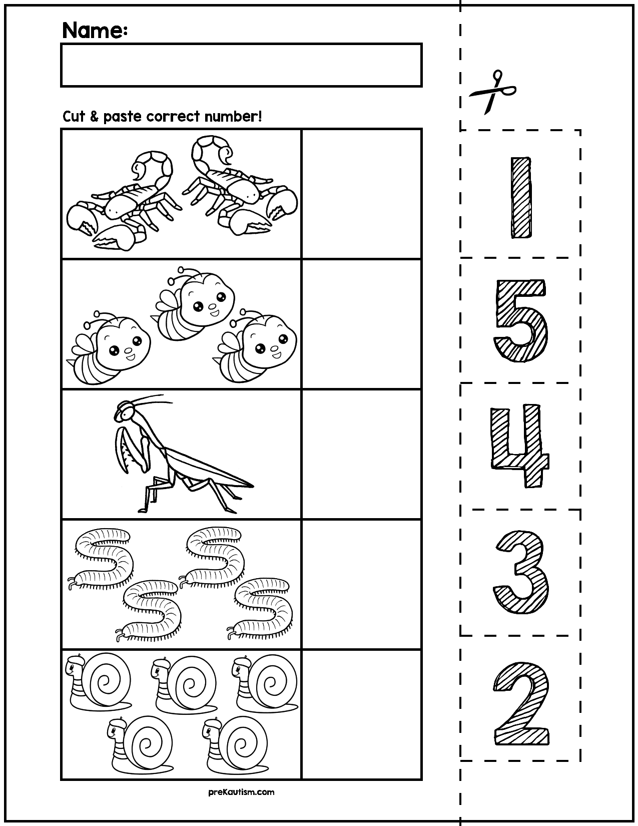 Free Printable Worksheets For Preschool Amp Kindergarten On