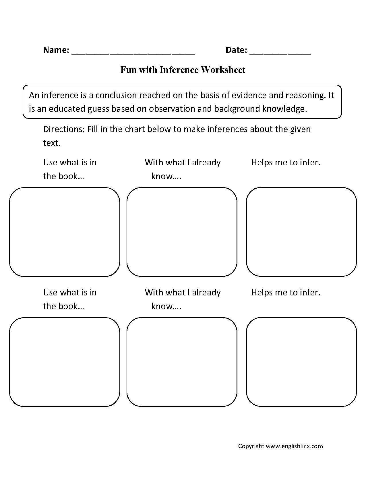 22 Best 3rd Worksheets Grade Comprehension Images On Best