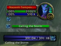 Calling the Storm Cast Bar & Nameplate