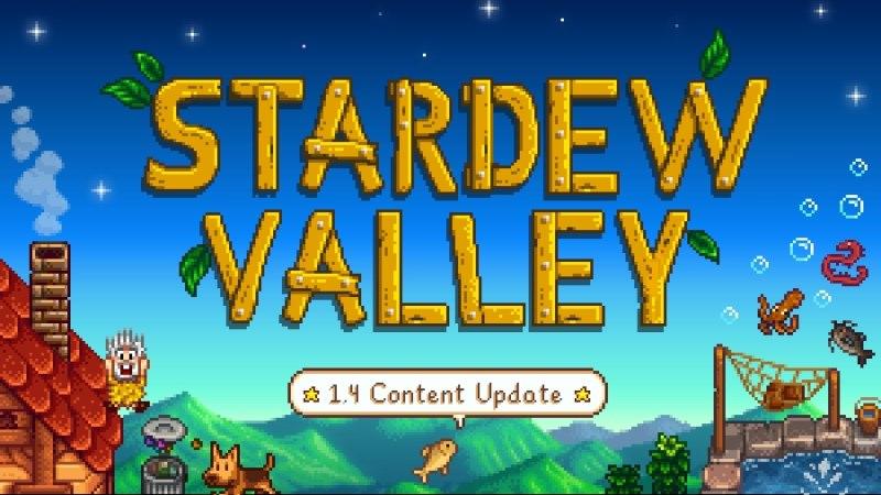 Stardew Valley - 1.4 Content Update   ConvernedApe