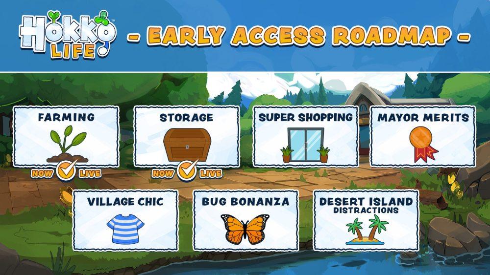 Hokko Life - Early Access Roadmap | Wonderscope Games, Team17