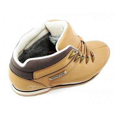 Купить Ботинки мужские кожа Timberland Yellow Winter