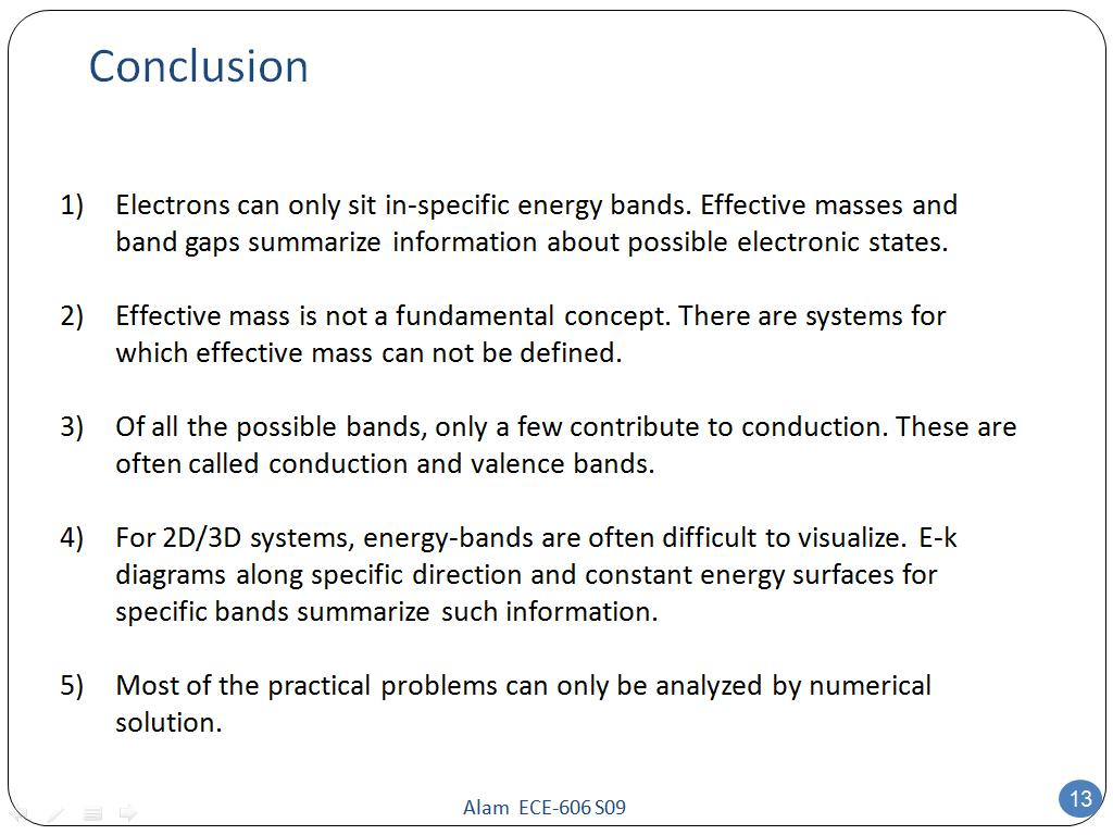 N Nohub G Re Urces Ece 606 Lecture 6 Energy B Nds