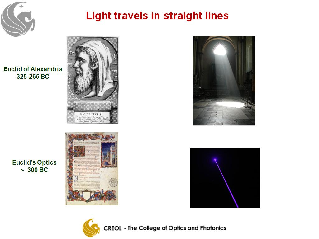 Light Travels In A Straight Line For Kids