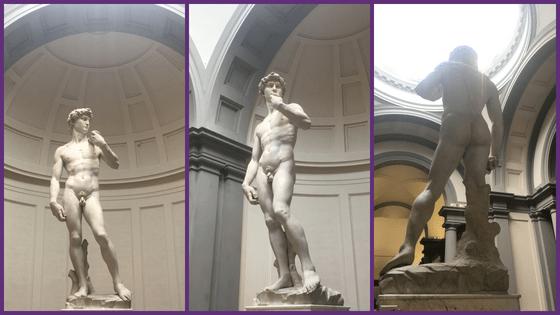co navštívit ve Florencii - socha Davida