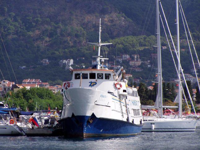Dovolená v Černé Hoře - přístav Budva