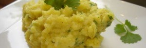 Curry & Coriander mashed potatoes !