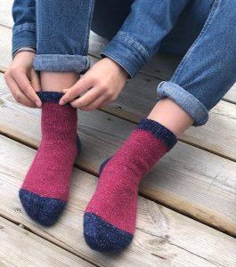 Tricoter des chaussettes parfaites