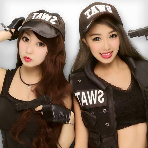 SWATの仮装