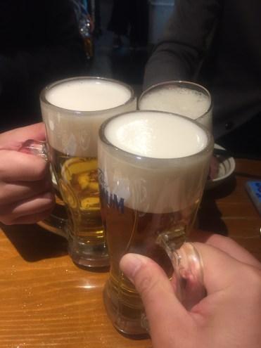 チームMAXで乾杯