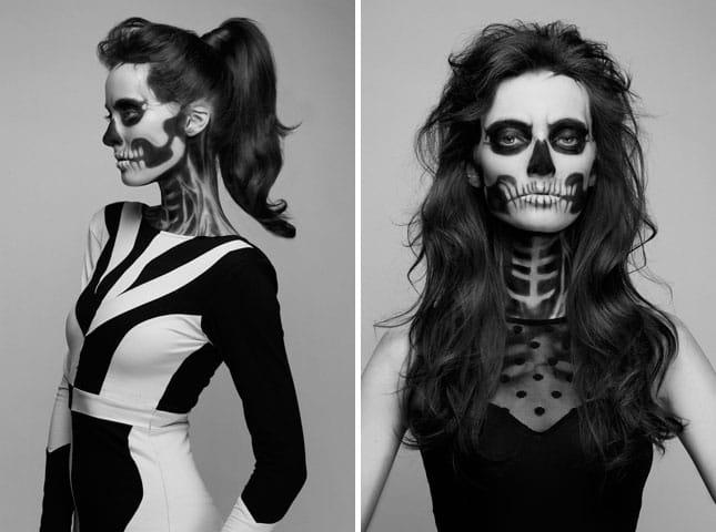 Top Terrifying & Impressive Halloween Make-up Looks