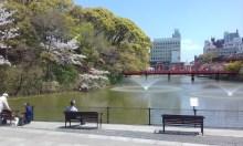 Tennoji Park pond
