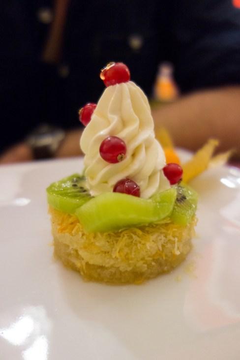 dessert au restaurant égyptien beau reve à nantes