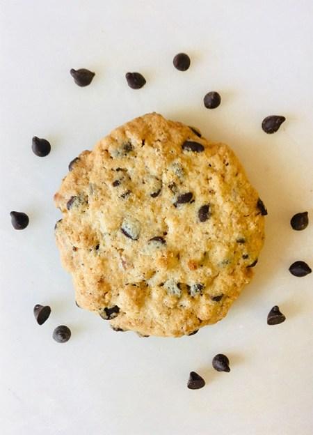 cookie zéro déchet au chocolat