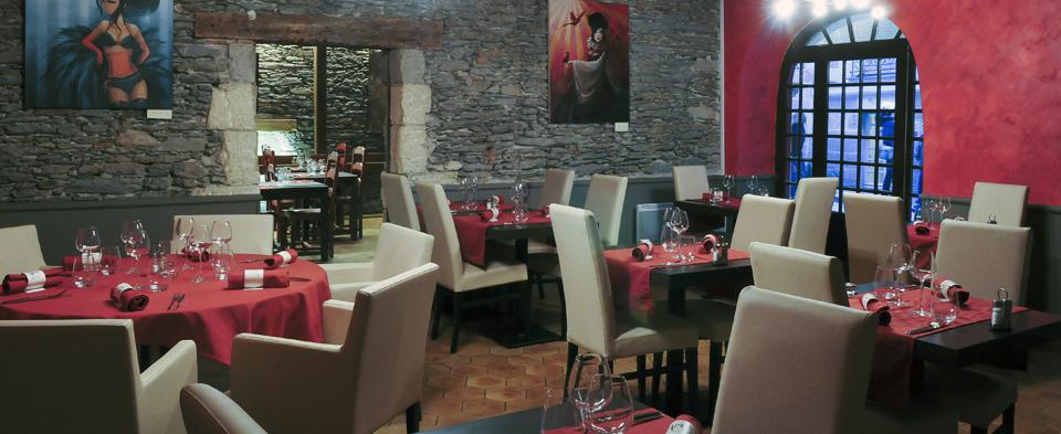 intérieur du restaurant a cantina