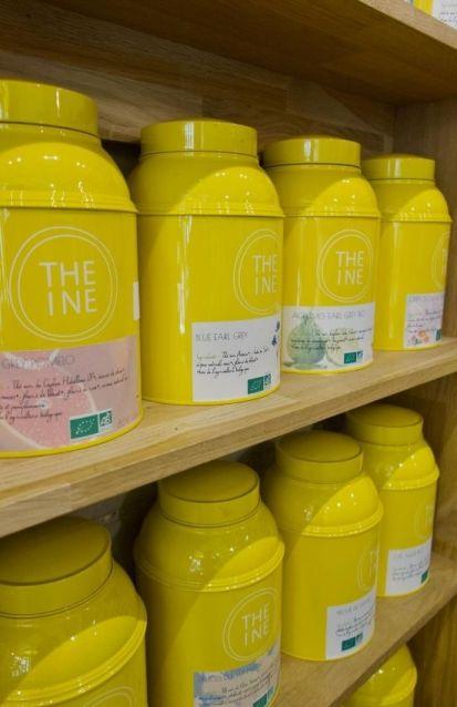 gamme de thé chez Théine