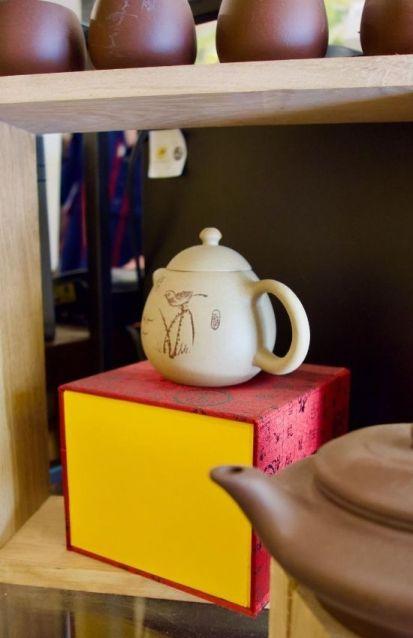 petit théière japonaise chez Théine