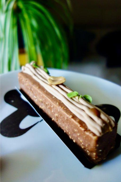 finger chocolat, cacahuètes, micro-pousses