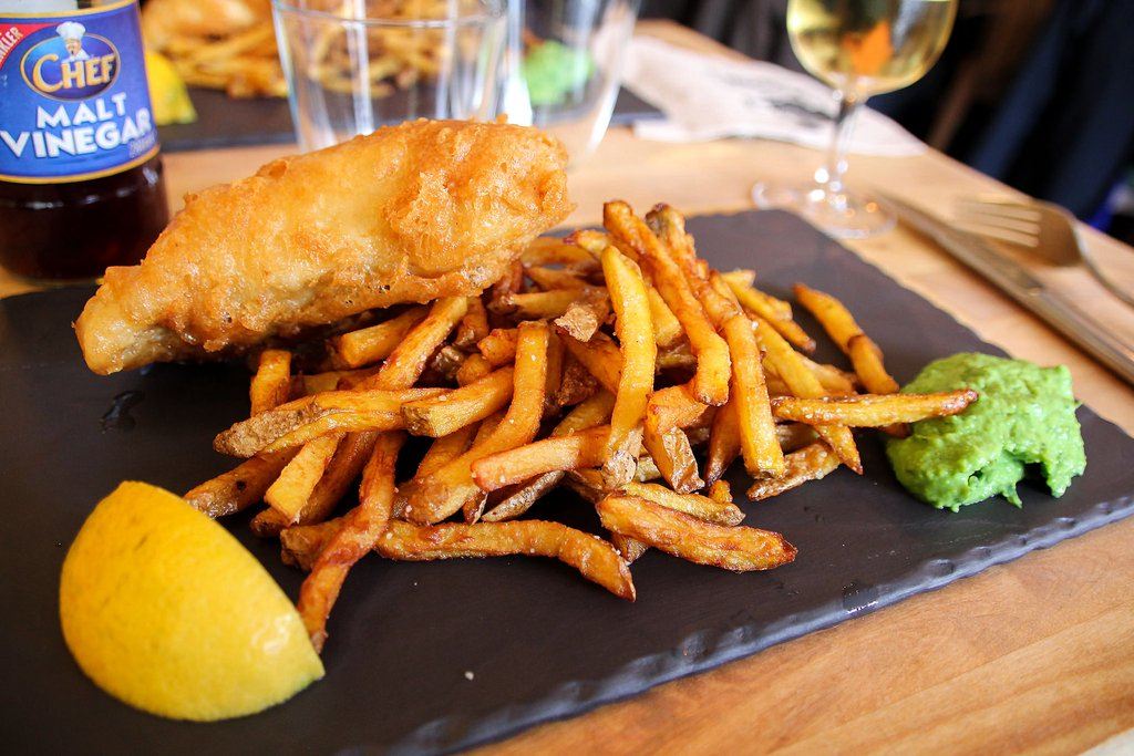 Fish And Chips in Nantes