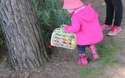 The great Easter egg hunt is on in Nantes