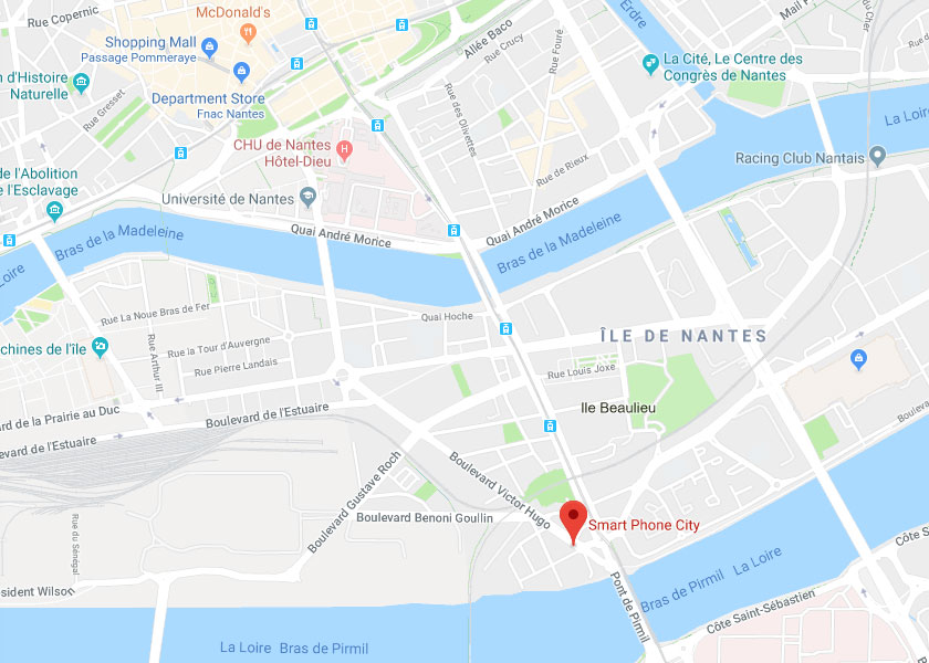 Smart Phone City Location