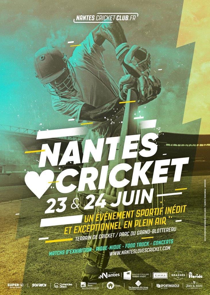Nantes Loves Cricket