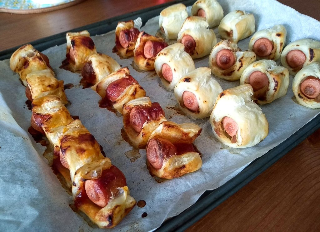 Cooked Sausage Rolls