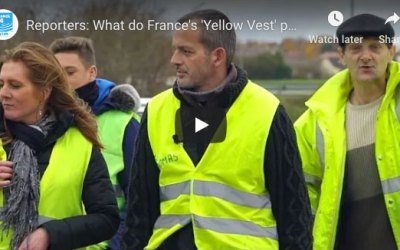 What's the 'Gilets Jaunes' movement all about?