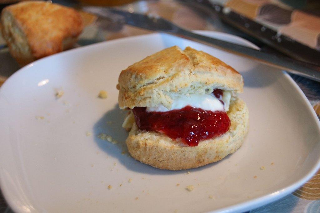 Scone With Jam