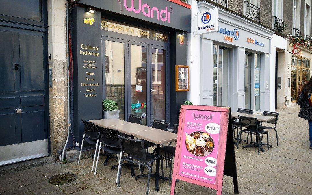 Wandi Indian Restaurant in Nantes